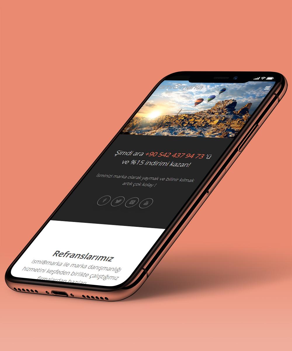 Turizmciler için mobil uyumlu web sitesi