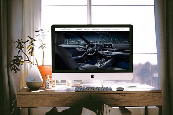Otomotiv firmaları için profesyonel web sitesi